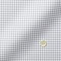 レディースパターンオーダーシャツ(ベーシック) THOMAS MASON ホワイト×グレーチェック 【S72EXMW08】