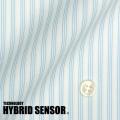 レディースパターンオーダーシャツ(ベーシック) 高機能素材HybridSensor ストライプ 【S72SK9110】