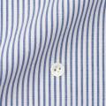 レディースパターンオーダーシャツ(ベーシック) イージーケア 麻混紡 ネイビーロンスト 【S72SKBF66】