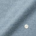 レディースパターンオーダーシャツ(ベーシック) 純綿 ブルーグレードビー起毛 【S72SKFEL4】