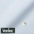 レディースパターンオーダーシャツ(ベーシック) Variex ブルー×ホワイトドビーストライプ 【S72SKFEM5】