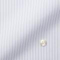 レディースパターンオーダーシャツ(ベーシック) スパーノ.ECO ホワイト×パープル濃淡ストライプ 【S72SKFER3】