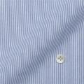 レディースパターンオーダーシャツ(ベーシック) Variex ネイビーヘアラインストライプ1mm 【S72SKFES5】