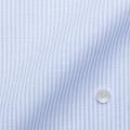 レディースパターンオーダーシャツ(ベーシック) 涼感素材・吸水速乾 ホワイト×ブルーストライプ  【S72SKFF56】