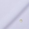 レディースパターンオーダーシャツ(ベーシック) トリコットニット 白場ストライプ(パープル系) 【S72SKFFA2】