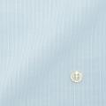 レディースパターンオーダーシャツ(ベーシック) 形態安定 ライトブルードビ—ストライプ 【S72SKFT23】