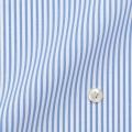 レディースパターンオーダーシャツ(ベーシック) 形態安定 ライトブルーロンドンストライプ 【S72SKFT36】