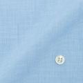 レディースパターンオーダーシャツ(ベーシック) 純綿 ブルー無地ハケメ 【S72SKFU55】