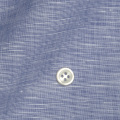 レディースパターンオーダーシャツ(ベーシック) 麻混紡 涼感素材 ネイビー 【S72SKFW17】