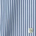レディースパターンオーダーシャツ(ベーシック) 100番手双糸 ブルーストライプ 【S72SKFW97】