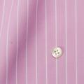 レディースパターンオーダーシャツ(ベーシック) 100双 ピンク×ホワイトペンシルストライプ 【S72SKFX04】
