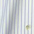 レディースパターンオーダーシャツ(ベーシック) 100番手双糸 パープルストライプ 【S72SKFY52】