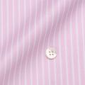 レディースパターンオーダーシャツ(ベーシック) 100番手双糸 ピンクストライプ 【S72SKFY64】