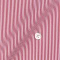 レディースパターンオーダーシャツ(ベーシック) 平織りレッドロンドンストライプ 【S72SKFY77】