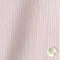 レディースパターンオーダーシャツ(ベーシック) 純綿 レッドマイクロストライプ 【S72SKFZ02】