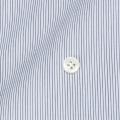 レディースパターンオーダーシャツ(ベーシック) 純綿 ブラックマイクロストライプ 【S72SKFZ03】