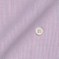 レディースパターンオーダーシャツ(ベーシック) 純綿 レッドマイクロチェック 【S72SKFZ08】