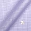 レディースパターンオーダーシャツ(ベーシック) 純綿 形態安定 パープルグレンチェック 【S72SKFZ86】