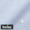レディースパターンオーダーシャツ(デザイン) Variex ホワイトドビー×ブルーボーダー柄 【S73SKFEM3】