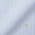 レディースパターンオーダーシャツ(デザイン) スパーノ.ECO ホワイト×ブルードビーストライプ 【S73SKFER1】