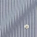レディースパターンオーダーシャツ(デザイン) 形態安定 ネイビーロンドンストライプ 【S73SKFT37】