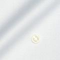 レディースパターンオーダーシャツ(デザイン) 純綿 ホワイトダイヤ柄ドビー 【S73SKFV94】