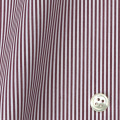 レディースパターンオーダーシャツ(デザイン) 平織りエンジロンドンストライプ 【S73SKFY88】