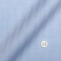レディースパターンオーダーシャツ(デザイン) 純綿 形態安定 ブルーヘリンボーン 【S73SKFZ18】