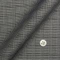 レディースパターンオーダーシャツ(デザイン) 純綿 形態安定 ブラックグレンチェック 【S73SKFZ96】