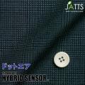 メンズサイズオーダージャッツ ジャケット ハイブリッドセンサー ネイビー系チェックプリント 【S74SKJ6K2】