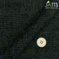 メンズサイズオーダージャッツ ジャケット コットンウール ブラック・グレーグレンチェック 【S74SKJ793】