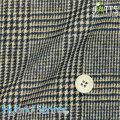 メンズサイズオーダージャッツ ジャケット ハイブリッドセンサー KNIT ベージュ系×ブラックチェック柄プリント 【S74SKJ944】
