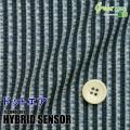 メンズサイズオーダーベスト ハイブリッドセンサー ネイビー系ストライププリント 【S75SKJ6K0】