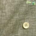 メンズサイズオーダーベスト ASAKOモナリザプリント ブラウン千鳥格子柄 【S75SKJ6K5】