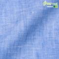 メンズサイズオーダーベスト リネン100% ブルー 【S75SKJ838】