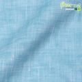 ●メンズサイズオーダーベスト リネン100% アイスブルー 【S75SKJ852】
