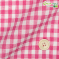 メンズサイズオーダーベスト リネン100% ピンクギンガムチェック 【S75SKJ856】