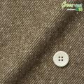 メンズサイズオーダーベスト 綿ポリエステル ブラウンツイル ジャズネップ起毛 【S75SKJA40】
