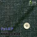 レディースサイズオーダージャケット ハイブリッドセンサー ネイビーメランジ調プリント 【S76SKJ6J7】
