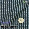 レディースサイズオーダージャケット ハイブリッドセンサー ネイビー系ストライププリント 【S76SKJ6K0】