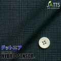 レディースサイズオーダージャケット ハイブリッドセンサー ネイビー系チェックプリント 【S76SKJ6K2】
