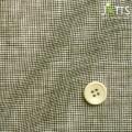 レディースサイズオーダージャケット ASAKOモナリザプリント ブラウン千鳥格子柄 【S76SKJ6K5】