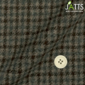 レディースサイズオーダージャケット BRITISH WOOL35% ブラウンチェック 【S76SKJ774】