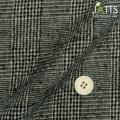 レディースサイズオーダージャケット コットンウール ブラック・ベージュグレンチェック 【S76SKJ792】