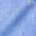 レディースサイズオーダージャケット リネン100% ブルー 【S76SKJ838】