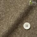 レディースサイズオーダージャケット 綿ポリエステル ブラウンツイル ジャズネップ起毛 【S76SKJA40】