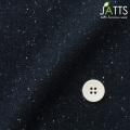 ●レディースサイズオーダージャケット ウール混 ストレッチ素材 ネイビー地ホワイトネップ 【S76SKJF10】