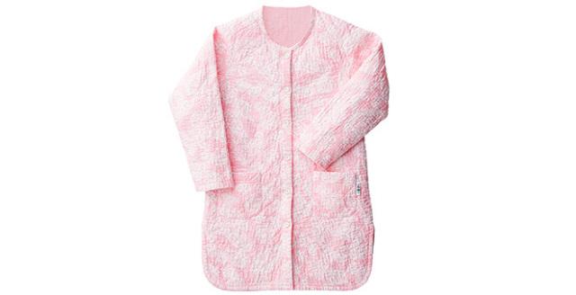 パジャマ デザインキルト 女性用(えり無 ワンピース)