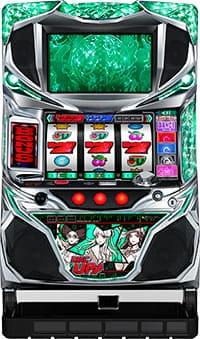 サミー パチスロ ディスクアップ/ZS 【グリーンパネル】【コイン不要機付き】