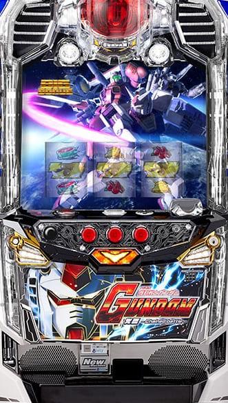 ビスティ パチスロ機動戦士ガンダム 覚醒-Chained battle-【CB】実機 【コイン不要機付き】